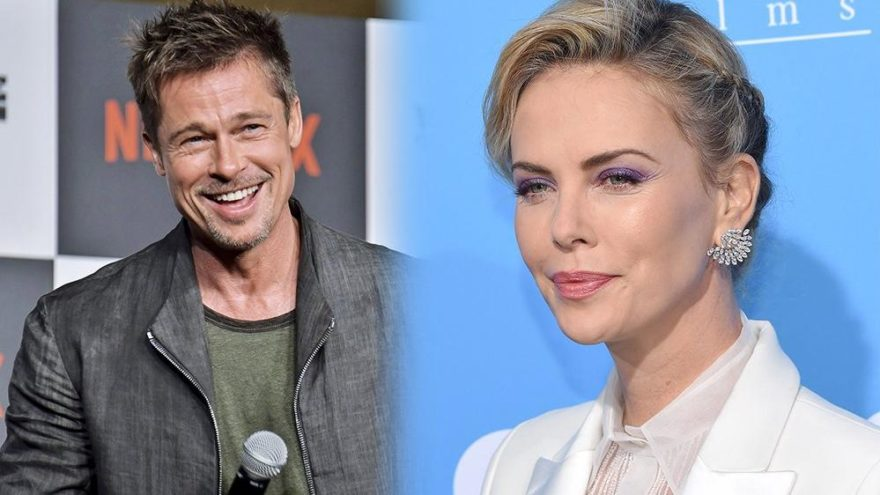 2019'un ilk bombası! Brad Pitt ve Charlize Theron aşk yaşıyor…