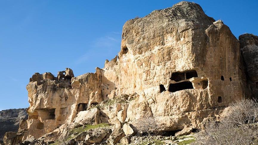 Diyarbakır'ın keşfedilmeyen güzelliği Hasuni Mağaraları