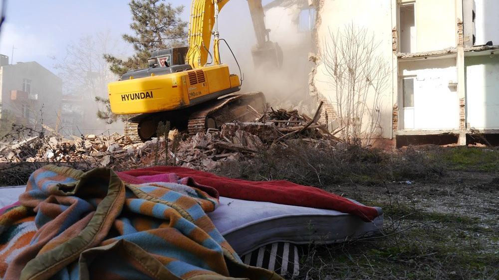 Edirne'de sevindiren yıkım