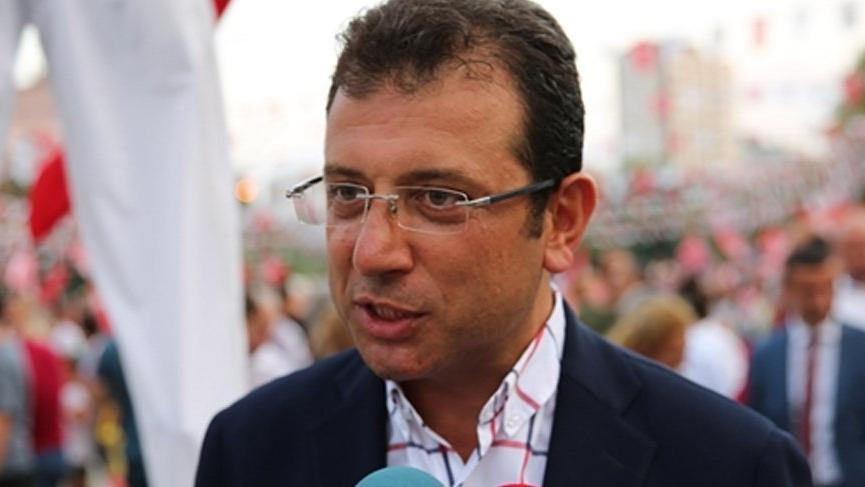 CHP'li İmamoğlu'ndan Binali Yıldırım'ın istifa açıklamasına ilk yorum