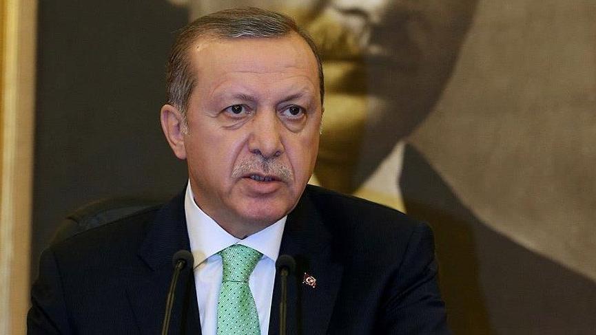 Erdoğan: Trump'la PYD'ye verilen silahları görüşmedik