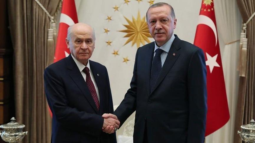 Bahçeli'den Erdoğan'a: Memnuniyet duydum