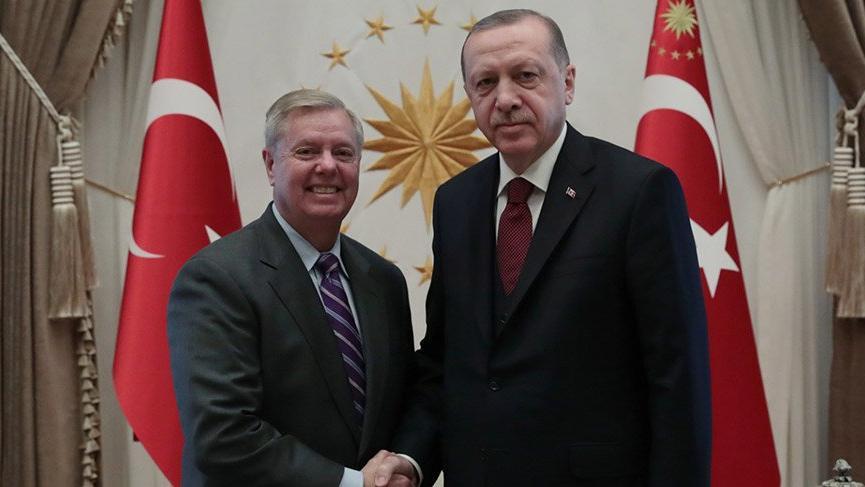 Son Dakika... Cumhurbaşkanı Erdoğan, ABD'li senatör Graham ile görüştü