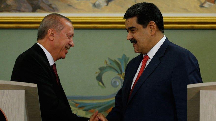Son Dakika... Erdoğan'dan Maduro'ya destek