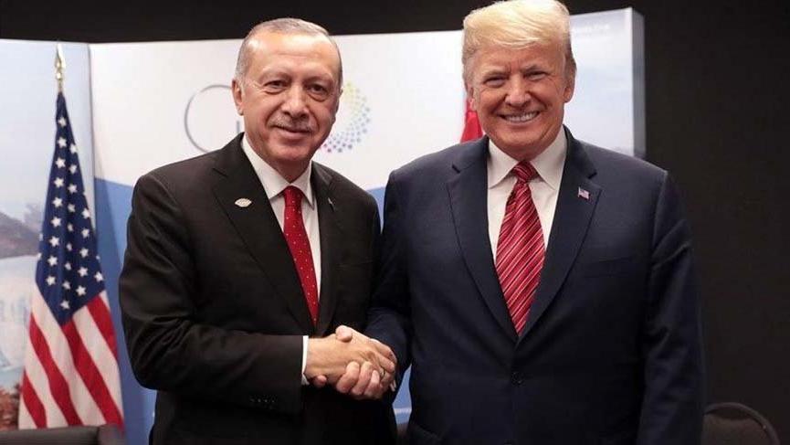 Erdoğan, ABD Başkanı Trump'la görüştü