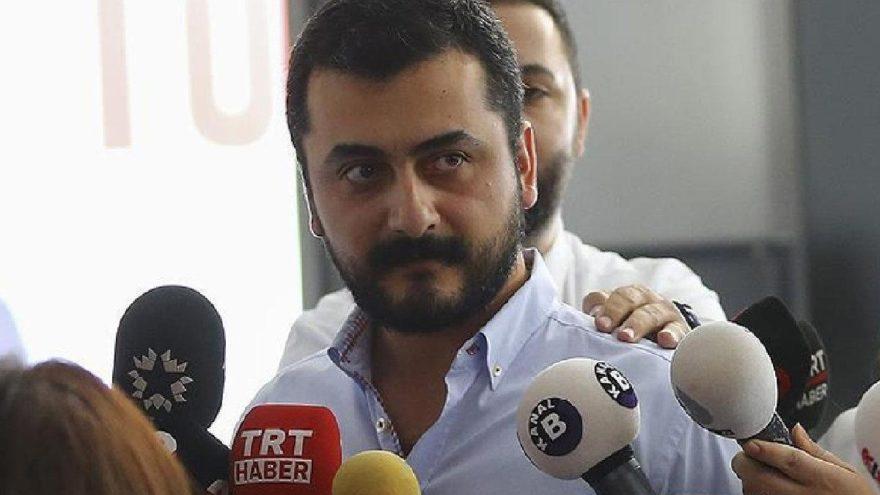 Eren Erdem'e dün tahliye bugün tutuklama