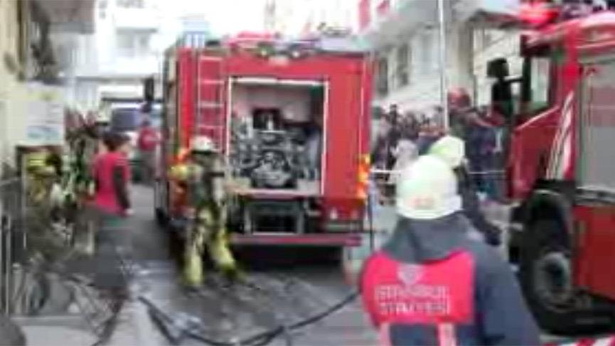 Esenyurt'ta yangın paniği