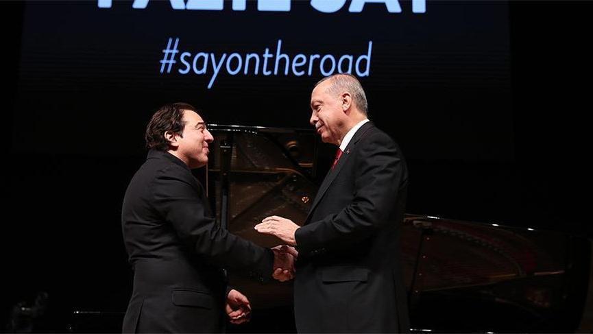 Cumhurbaşkanı Erdoğan'dan flaş Fazıl Say açıklaması