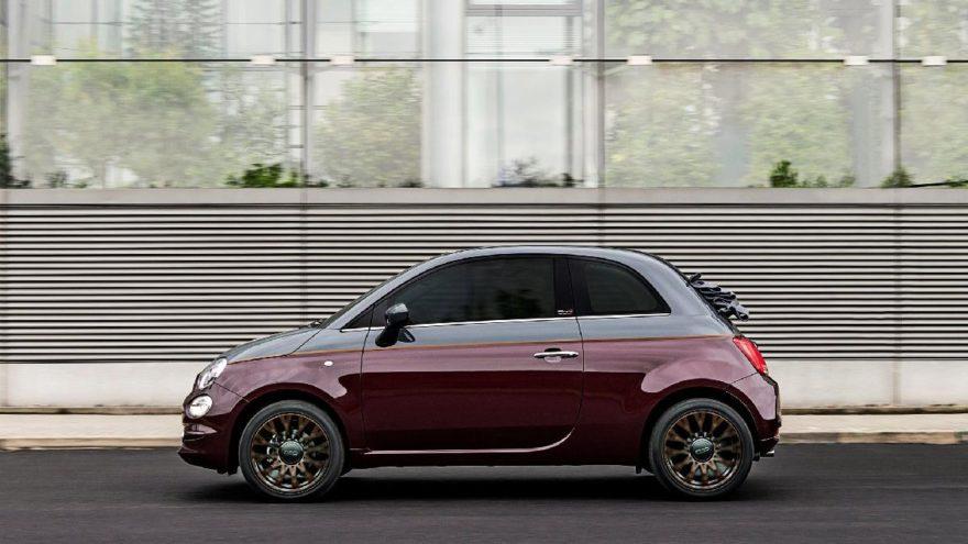 Kışa özel Fiat 500!