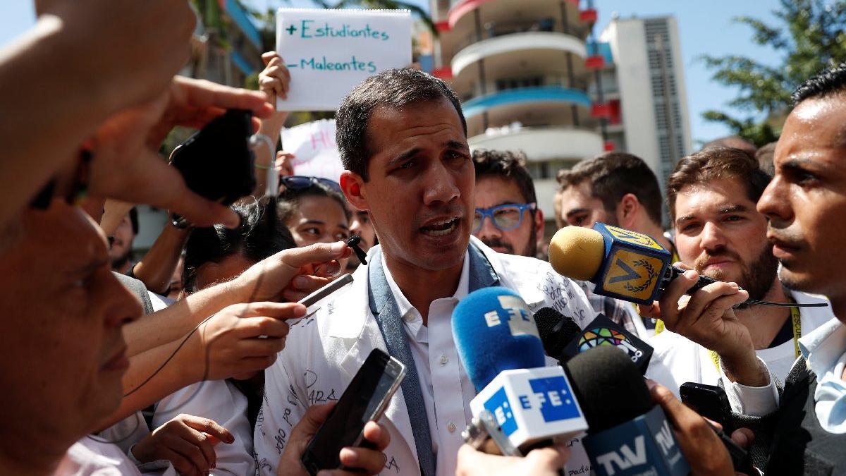 Maduro'nun rakibinden itiraf: Ordu ile gizlice görüştük