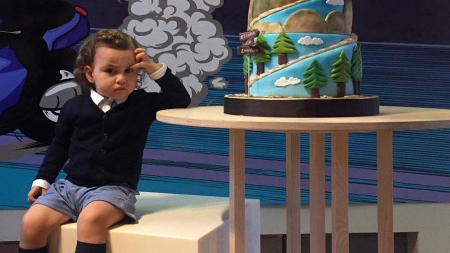 Gülşen'in oğlu Azur iki yaşında