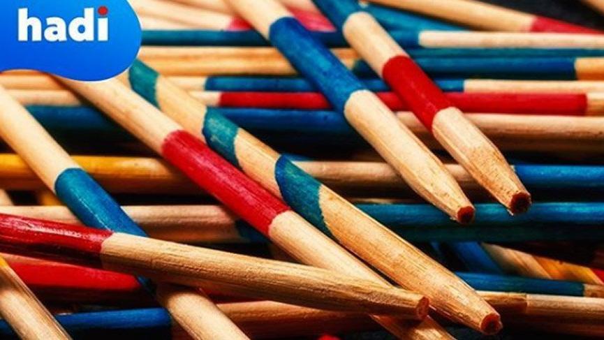 10 Ocak Hadi ipucu sorusu: Klasik mikado oyunu kaç çubukla oynanır?