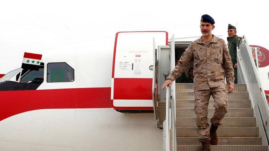 İspanya Kralı VI. Felipe Irak'tan özür diledi