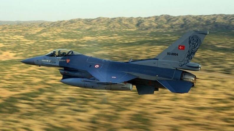 Irak'a hava harekâtı: 5 terörist öldürüldü