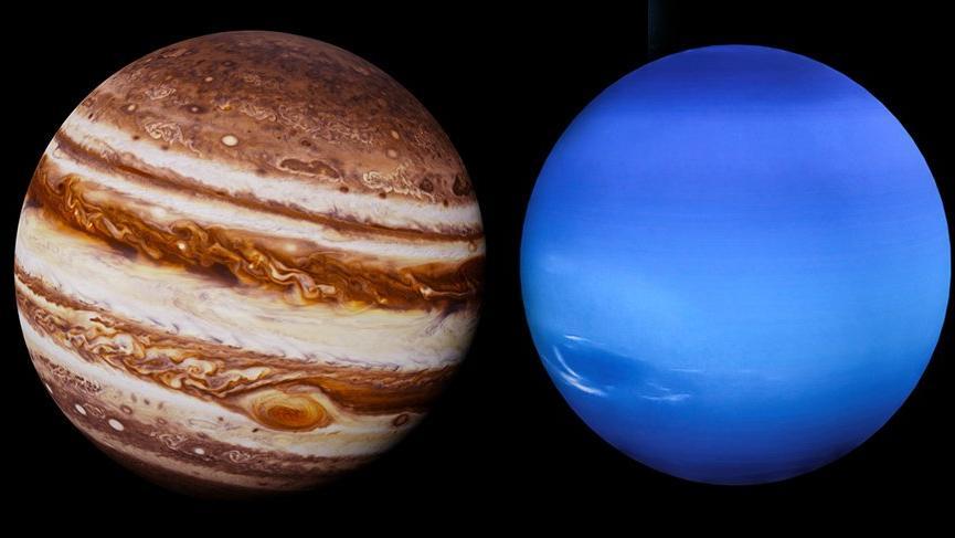 Jüpiter Neptün sert etkileşimi