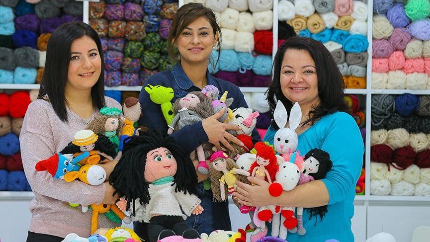 Kadınlardan kanserli çocukları sevindiren proje: Organik oyuncak