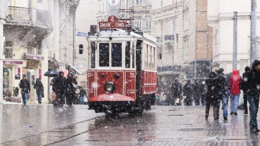 AKOM'dan İstanbul'a flaş uyarı! İstanbul'a kar geliyor….