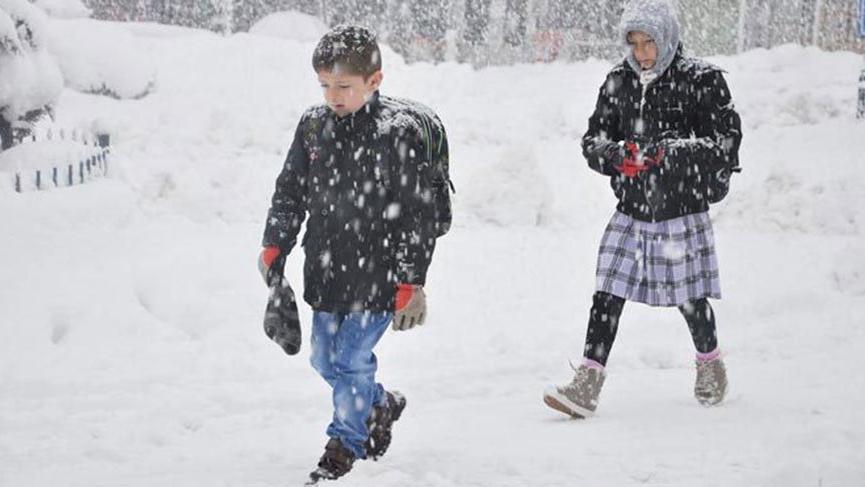 Van'da okullar tatil mi? 14 Ocak Van kar tatili açıklaması…