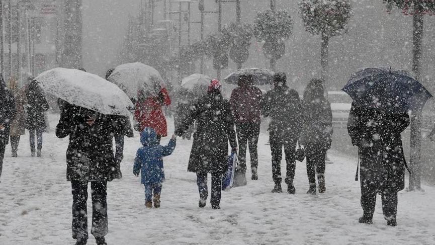 Kar ve sert soğuk için geri sayım! Ankara ve İstanbul dikkat...