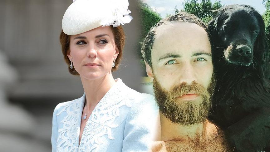 Kate'in erkek kardeşi James görünür oldu, ortalık karıştı!