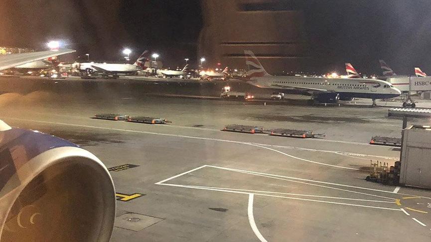 Londra'daki Heathrow Havalimanı'nda drone tehlikesi