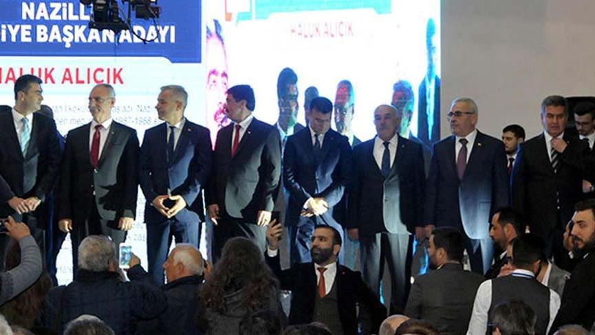 Cumhur İttifakı'nın Aydın adaylarını Hamza Dağ açıkladı