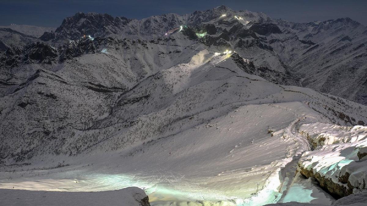 Karlı dağların yılmaz bekçisi 'Mehmetçik'