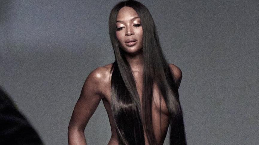 Naomi Campbell son haliyle şaşkınlık yarattı