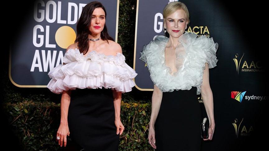 Nicole Kidman ve Rachel Weisz bir gün arayla pişti oldu