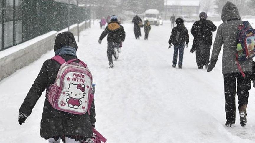 Bursa'da okullar tatil mi? 8 Ocak kar tatili için Bursa'da resmi açıklama geldi…