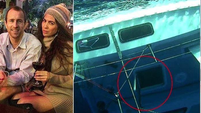 Miras almak için balayında eşini öldürmek için tekneyi batırmış
