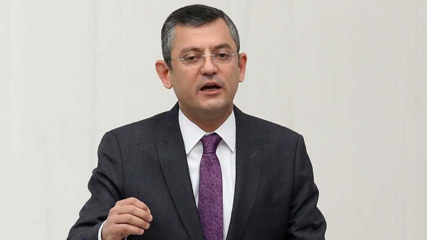 CHP'li Özel'den Yıldırım'a 'istifa' sorusu