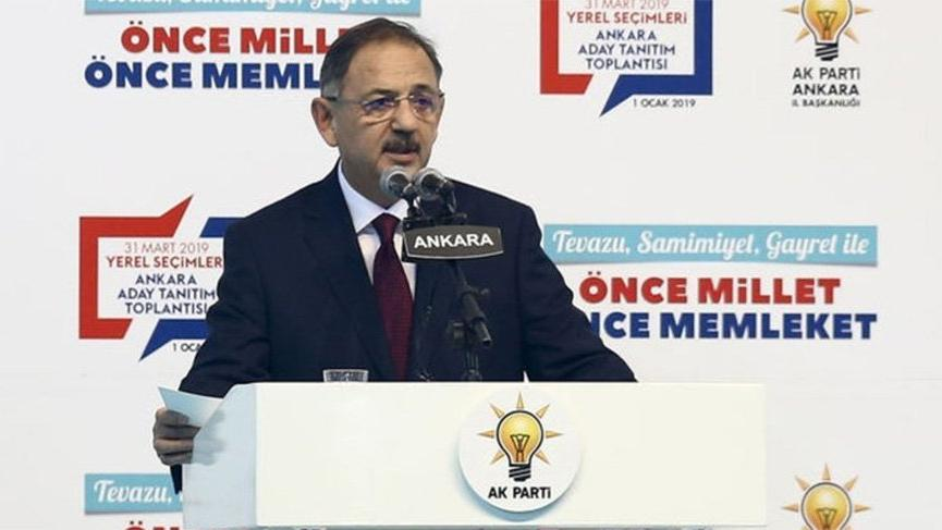 Özhaseki Ankara için projelerini açıkladı