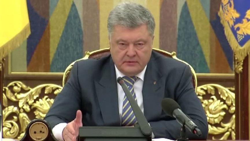 Ukrayna Devlet Başkanı Poroşenko: Rusya ile barışa ihtiyacımız var