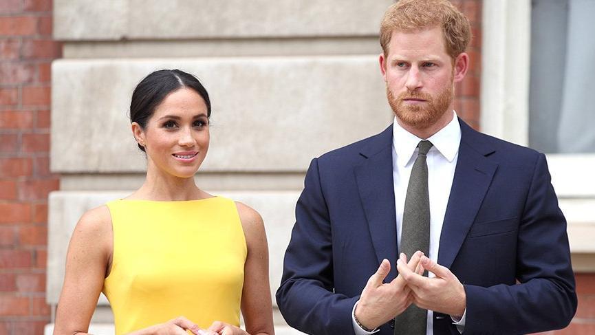 Meghan Markle Prens Harry'e alkolü yasakladı