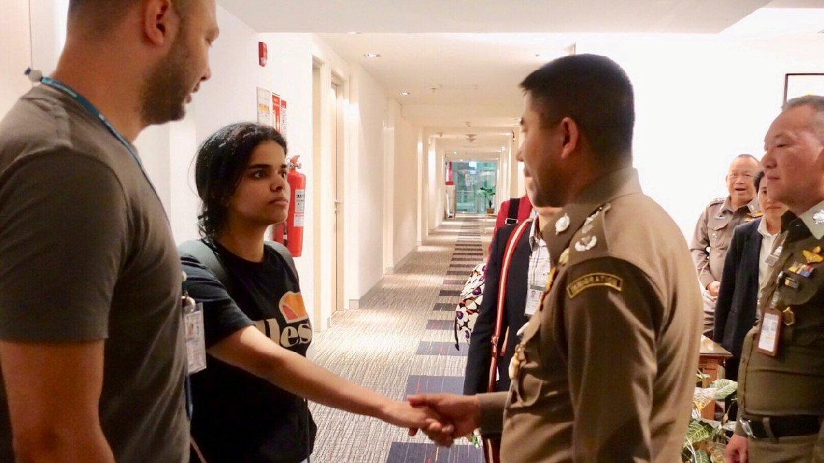 Havalimanında alıkonulan Suudi kıza BM sahip çıktı