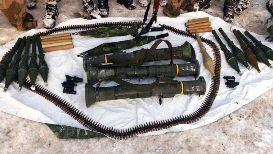 Hakkari kırsalında 3 tanksavar roketi ele geçirildi