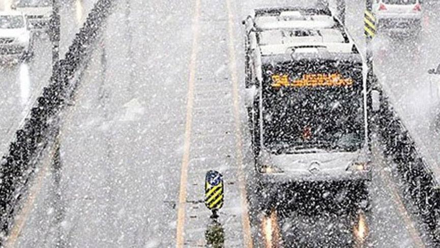 İBB'den kar ve buzlanma hazırlığı