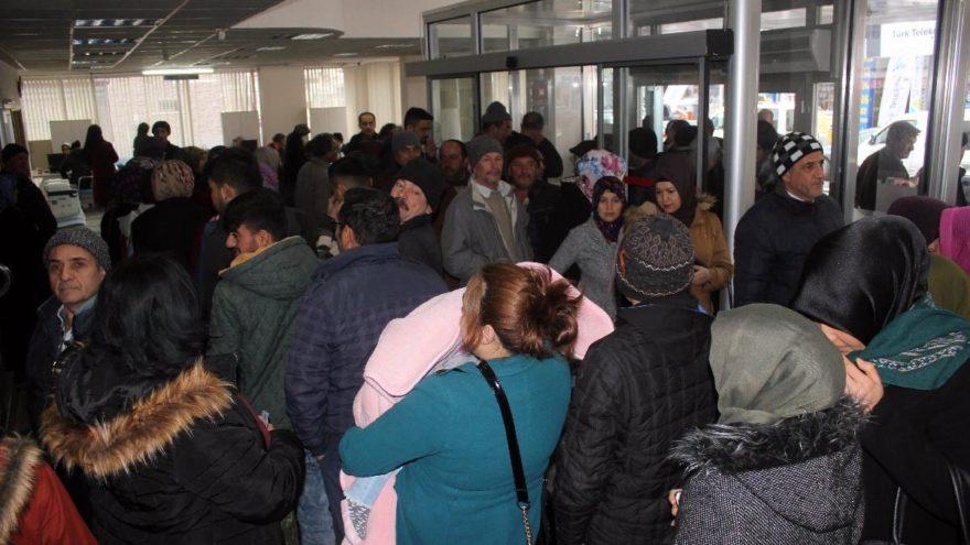 Karaman'da 'geçici iş' kuyruğu