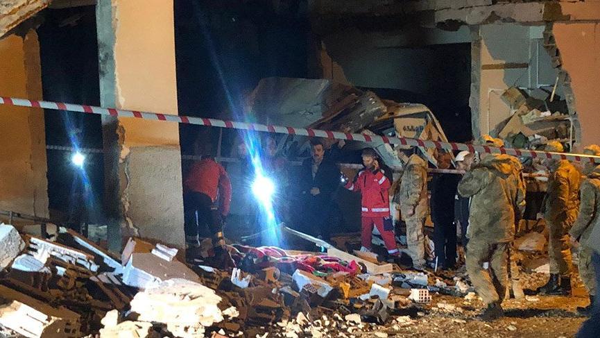 Son dakika haberi... Hatay'da kazan dairesinde patlama