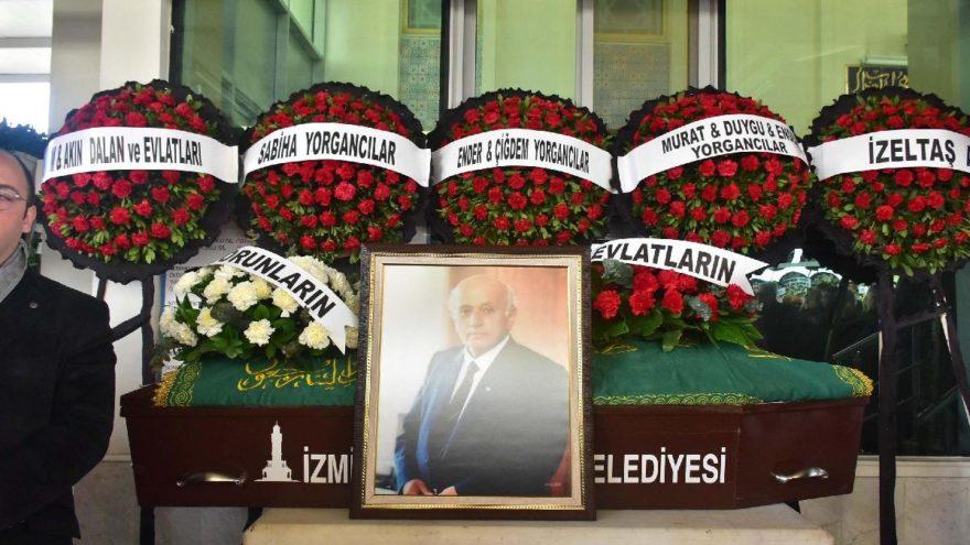 İş insanı İsmet Yorgancılar, İzmir'de toprağa verildi