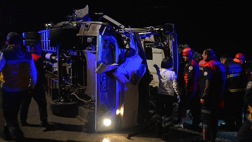 Son dakika haberi... Adana'da feci kaza! Çok sayıda ölü ve yaralı var