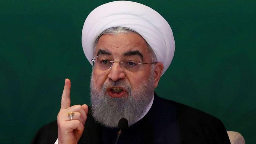 İran Cumhurbaşkanı Hasan Ruhani'den ABD ve İsrail'e tepki