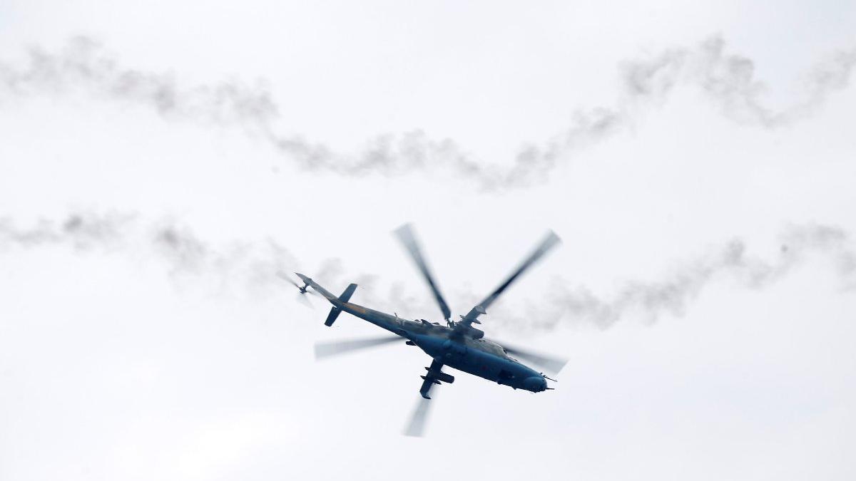 Rusya'dan çarpıcı iddia: Sınıra helikopterle IŞİD militanı bırakıyorlar