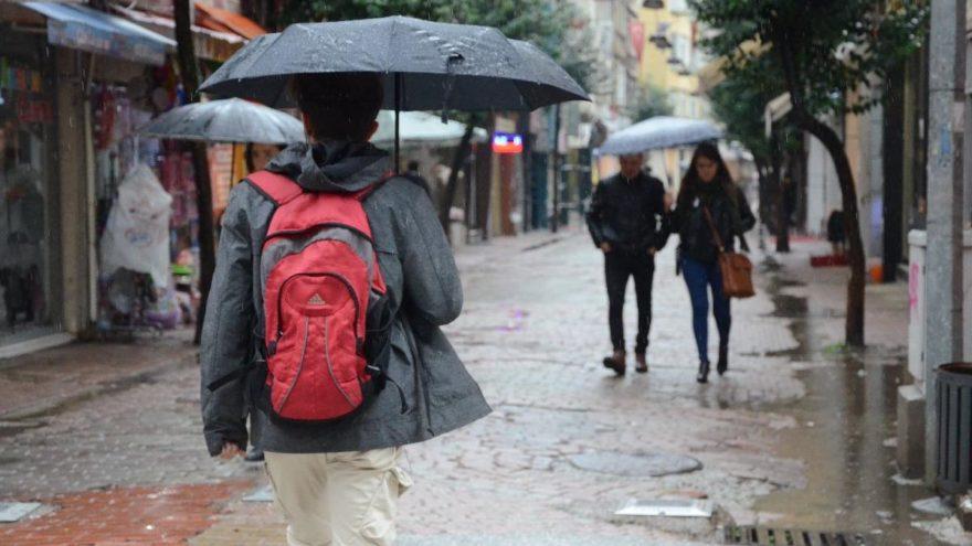 Meteoroloji'den son dakika uyarısı: İstanbullular kuvvetli yağmura dikkat!