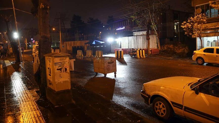 Diyarbakır'da İlçe Emniyet Müdürlüğü'ne el yapımı patlayıcıyla saldırı