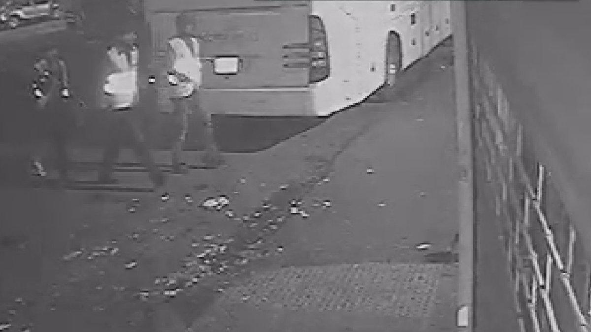 İstanbul'da sarı yelekli soygun