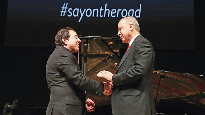 Fazıl Say'dan Erdoğan açıklaması: 'Uzlaşı kapısının aralandığını hissettim'
