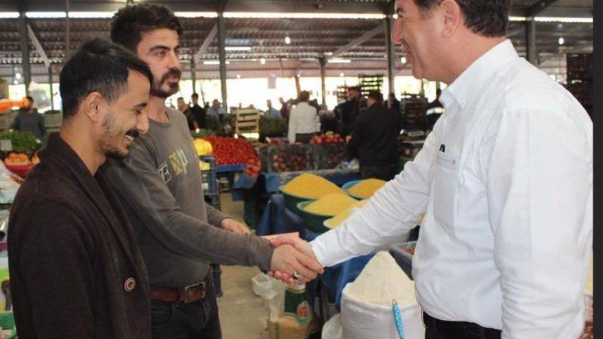 CHP'li Sinan Koç, Mersin Mezitli'de iddialı