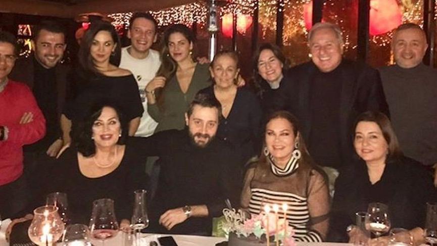 Türkan Şoray, kardeşi Nazan Şoray'ın yeni yaşını kutladı
